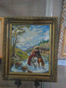 В музее народного творчества начала работать выставка «Старинное искусство вышивания»