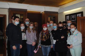 3 апреля гостями музея стали школьники из села Степановка Бессоновского района