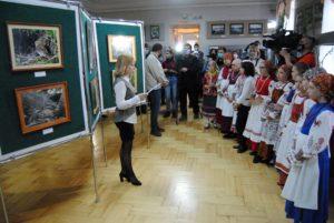 1 апреля в Пензенском краеведческом музее состоялось торжественное открытие фотовыставки «Птицы лесостепи», организованной Государственным заповедником «Приволжская лесостепь» при активной поддержке Пензенского краеведческого музея