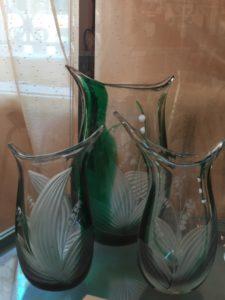 С середины XVIII века Пензенский край является одним из центров производства художественного стекла и хрусталя в нашей стране