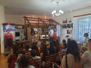 26 мая музей И.Н. Ульянова посетили студенты Пензенского художественного училища им.Савицкого