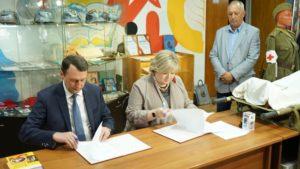 Соглашение о партнерстве между региональным отделением Российского военно-исторического общества и Ассоциацией школьных музеев Пензенской области подписано сегодня, 3 июня в Доме молодежи