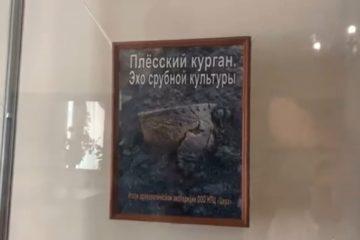 14 июля в музее И.Н. Ульянова открылась выставка «Плёсский курган. Эхо срубной культуры»