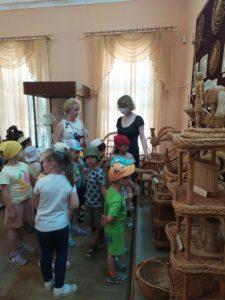 Музей народного творчества посетили воспитанники детского центра «Майрик»