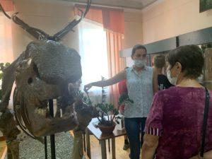 Летом в музее частыми посетителями становятся семейные группы