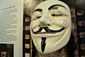 На выставке «Без лица» есть комплекс знаменитых масок из кинематографа