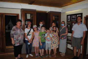 23 июля музей В.О. Ключевского посетили инвалиды из Октябрьской районной организации ПОО «ВОИ»