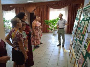 В МБУК «Золотаревский ДЦ» состоялось открытие выставки, посвящённой 30-летию создания Пензенской областной организации «Российский Союз ветеранов Афганистана»
