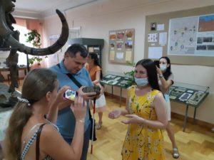 21 августа Пензенский краеведческий музей посетила делегация людей с инвалидностью по зрению из Чувашской Республики