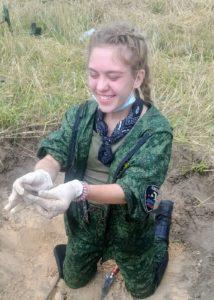 Пензенский поисковый отряд поднял останки земляка в Республике Беларусь