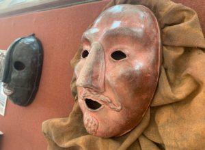 Маски средневековых палачей Европы