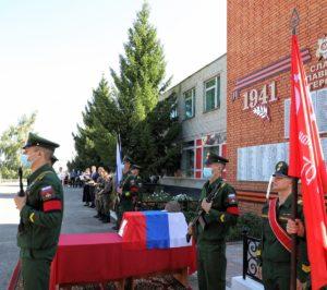 В Шемышейском районе перезахоронили останки бойца Красной армии