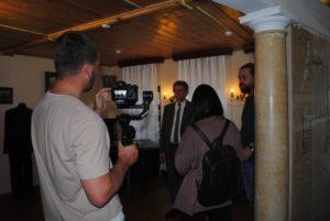 В музее В.О. Ключевского прошли съёмки видеоролика, посвящённого началу третьего этапа проекта «Пензенская область — регион возможностей»