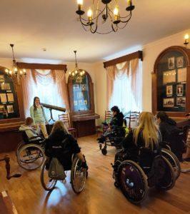 15 сентября 2021 года музей И.Н. Ульянова посетили участники проекта «Квартал Луи»
