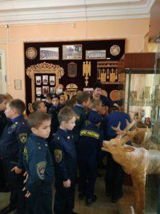 В музее народного творчества прошла экскурсия для учащихся начальных классов пензенской Кадетской школы по делам ГОЧС №70