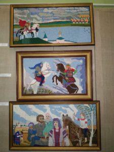 В музее народного творчества начала работать выставка «От Куликова поля до Бородина»