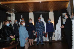 Музей В.О. Ключевского посетили сотрудники Уголовно-исполнительной инспекции УФСИН России по Пензенской области