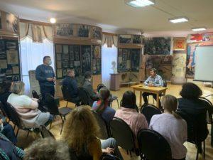 Профилактическая беседа с сотрудниками Пензенского краеведческого музея