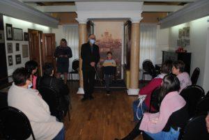 11 сентября в рамках Всероссийской акции «Культурная суббота» музей В.О. Ключевского посетили сотрудники Богословского досугового центра