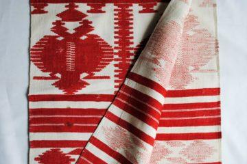 С XVIII века на территории Черниговской губернии Российской империи (ныне Сумской области Украины) существует Кролевецкий центр промыслового ткачества