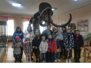 2 октября в Пензенском краеведческом музее в рамках «Краеведческой школы» прошло занятие «О чём рассказывает каменная книга?»
